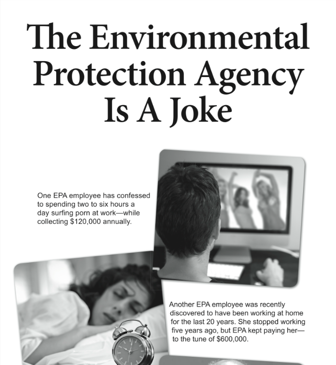 EPA is a Joke (Print Ad) - USA Today - May 16, 2014